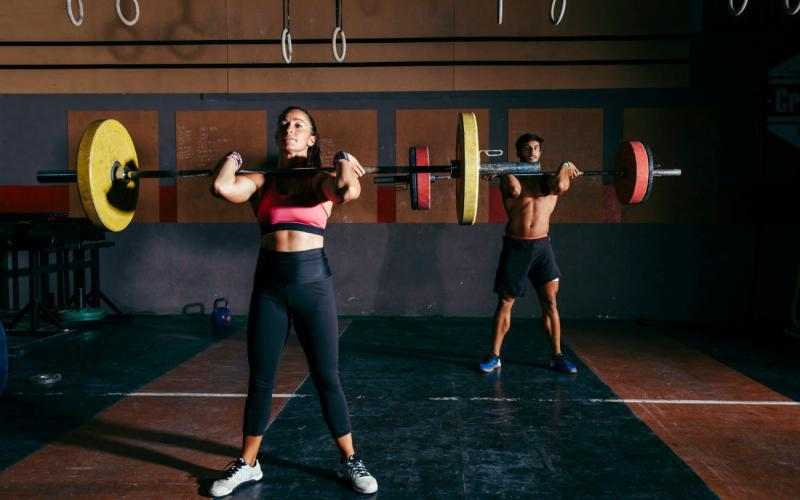 clean and jerk vs. clean and press