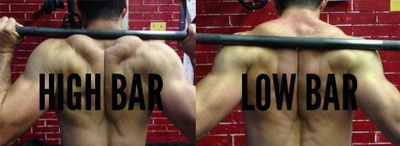 High Bar vs. Low Bar Squat for Bodybuilding