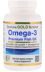 California Gold Nutrition Omega-3