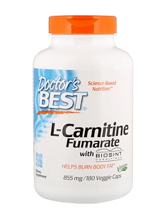 Doctor's Best, L-Carnitine Fumarate with Biosint Carnitines