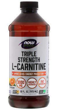Now Foods, Sports L-Carnitine Liquid