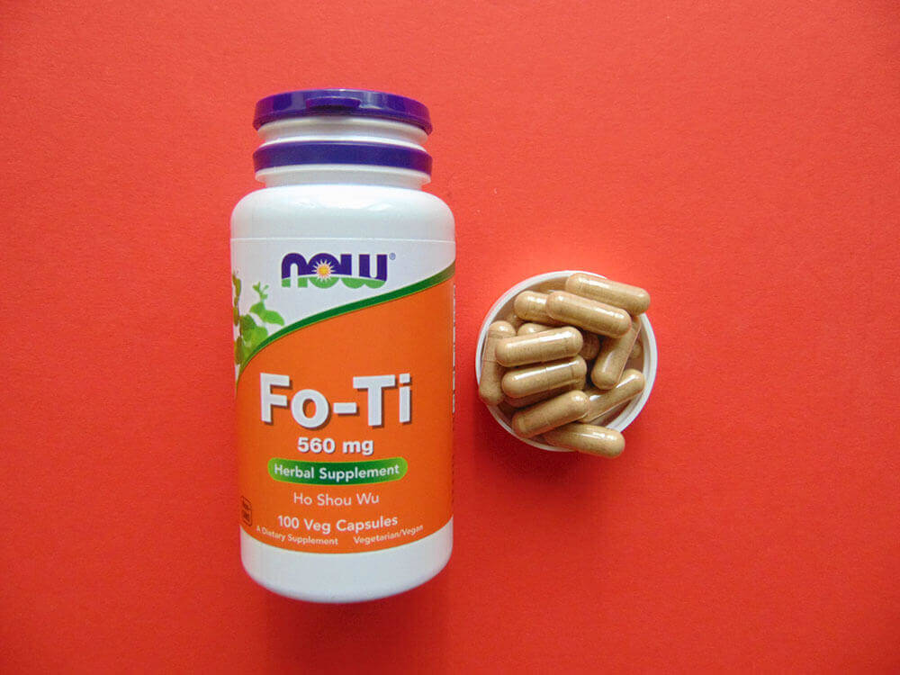Now Foods Fo Ti Supplements