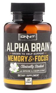 Onnit, Alpha Brain, Memory & Focus