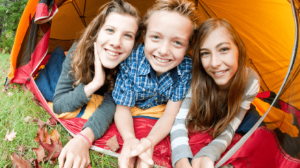 Backpacking for Campfire with Kids