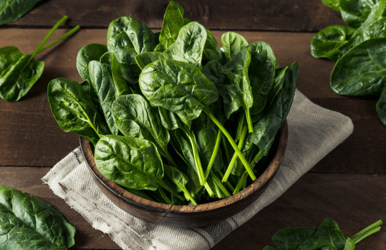 Best Food for Old People - Spinach